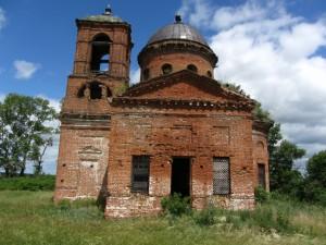 Церковь Успения Божией Матери в с. КАМЫШЛЕЙКА