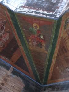 Село План. Церковь Троицы Живоначальной Сохранившиеся росписи