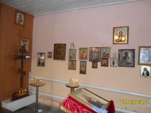 Храм в честь Архистратига Божия Михаила  Внутренний интерьер