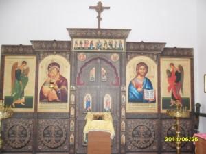 Часовня в честь  Архистратига Божия Михаила  Иконостас