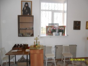 Часовня в честь  Архистратига Божия Михаила  Внутренний интерьер